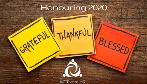 Honouring 2020